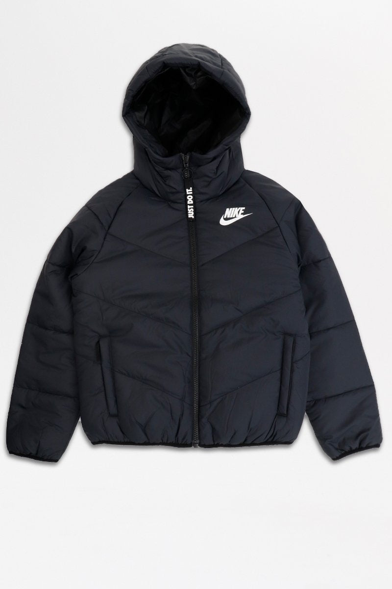 Nike - Windrunner Hooded Jacket (Black/ Black/ White) BV2906-010