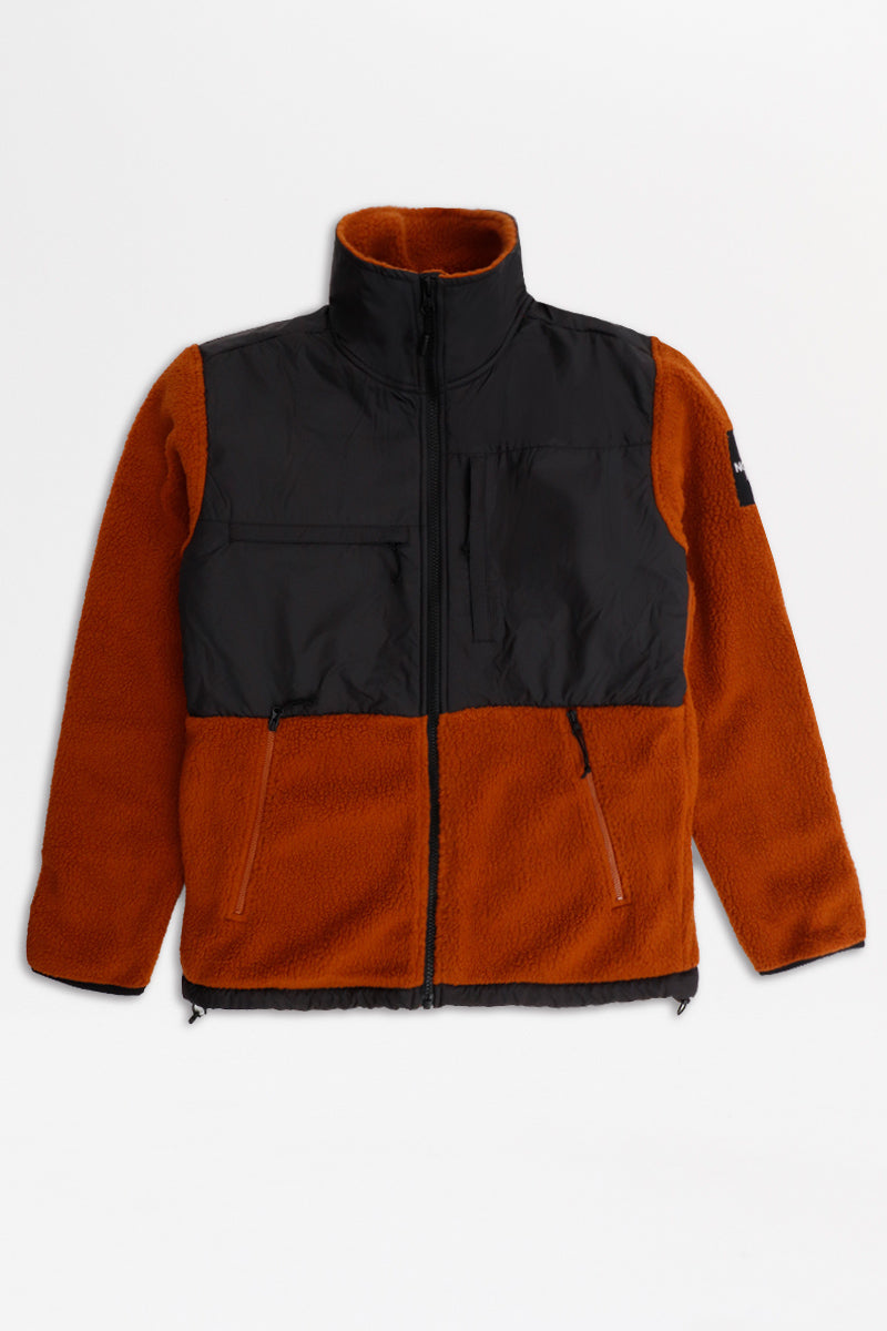 The North Face - Denali Fleece (Carmlcfe/ Black) A381MG
