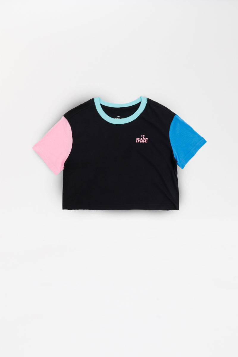 Nike - Sportswear Cropped T-Shirt Womens (Black) BV7155-010
