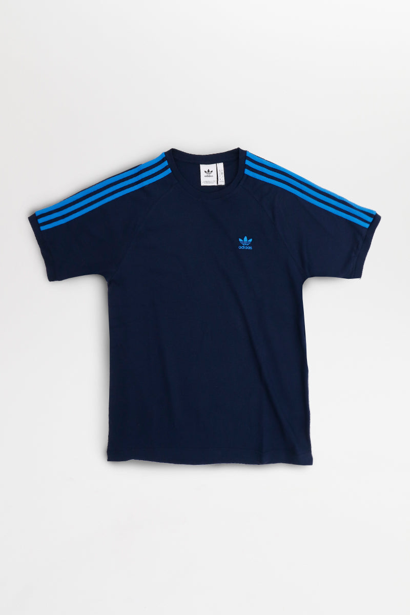 Adidas - BLC 3 Stripes T-Shirt (Collegiate Navy) ED5957