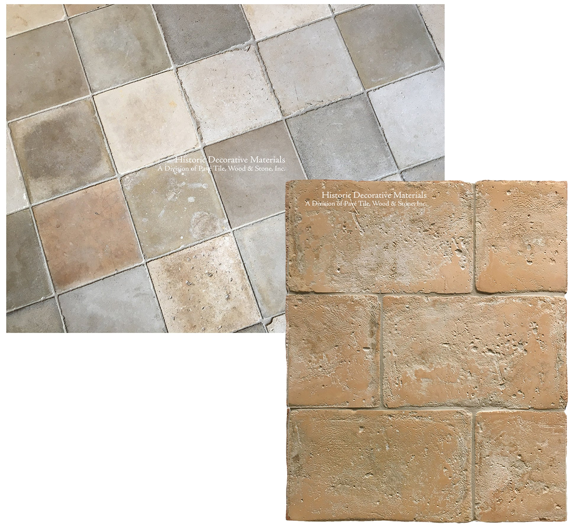 Reclaimed Italian And French Terra Cotta Tiles Historic