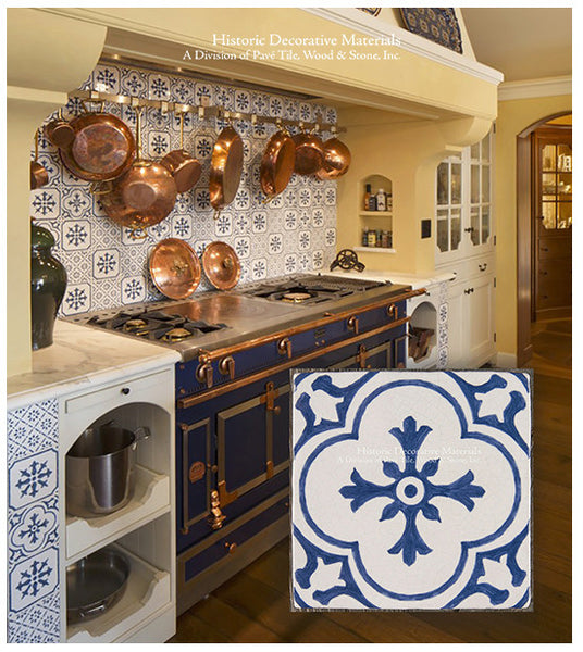 A Vintage Wall Tile Collection LOOK BOOK