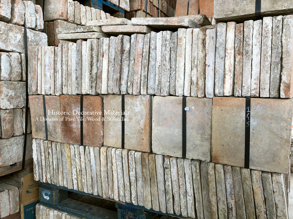 Italian Reclaimed Terra Cotta Tiles