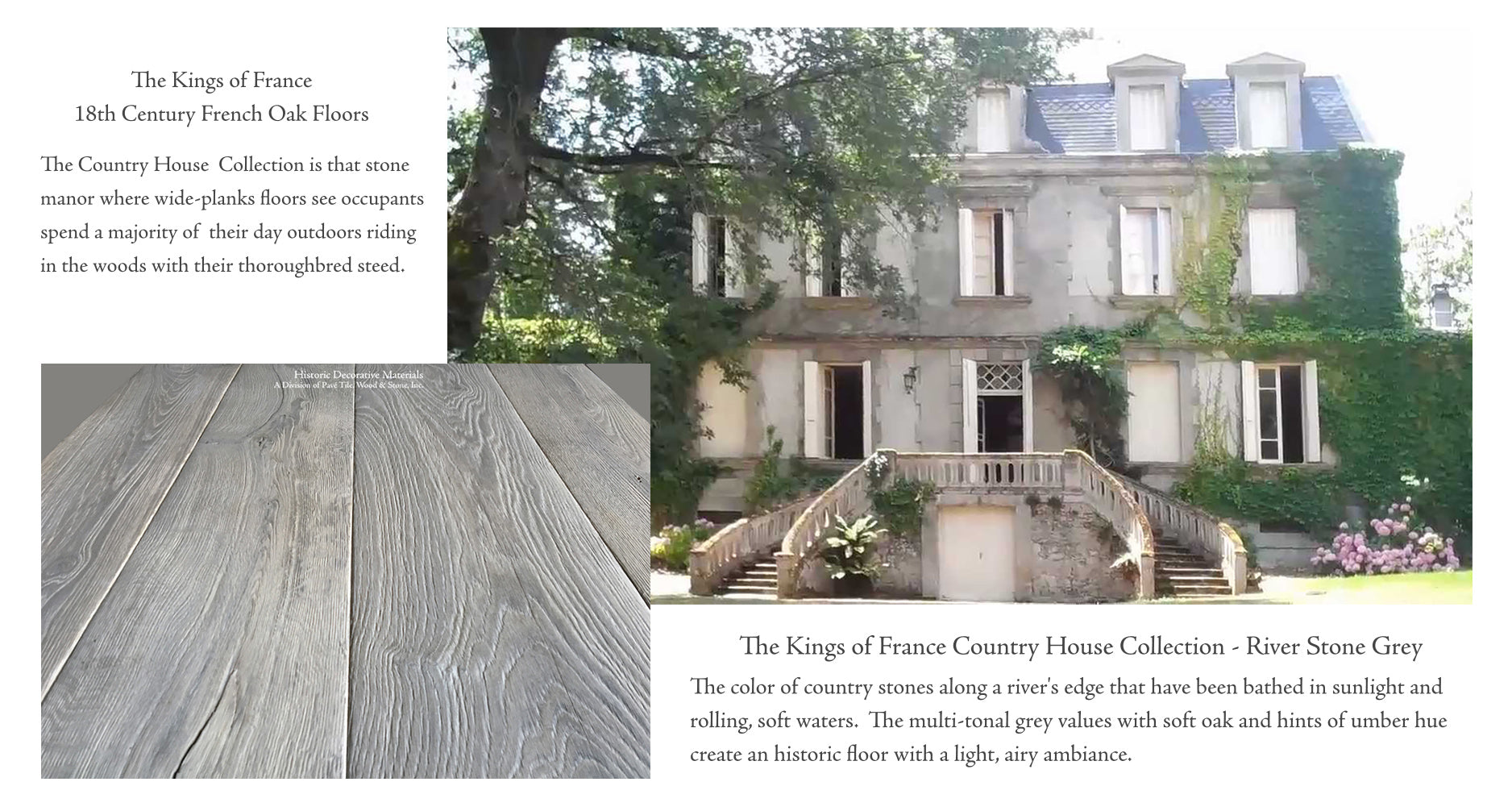 Kings of France 18th Century French Oak Flooring - The Country House Collection