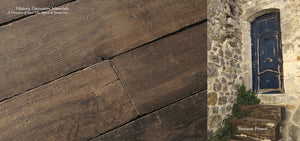 Reclaimed Wide Plank French Oak Flooring