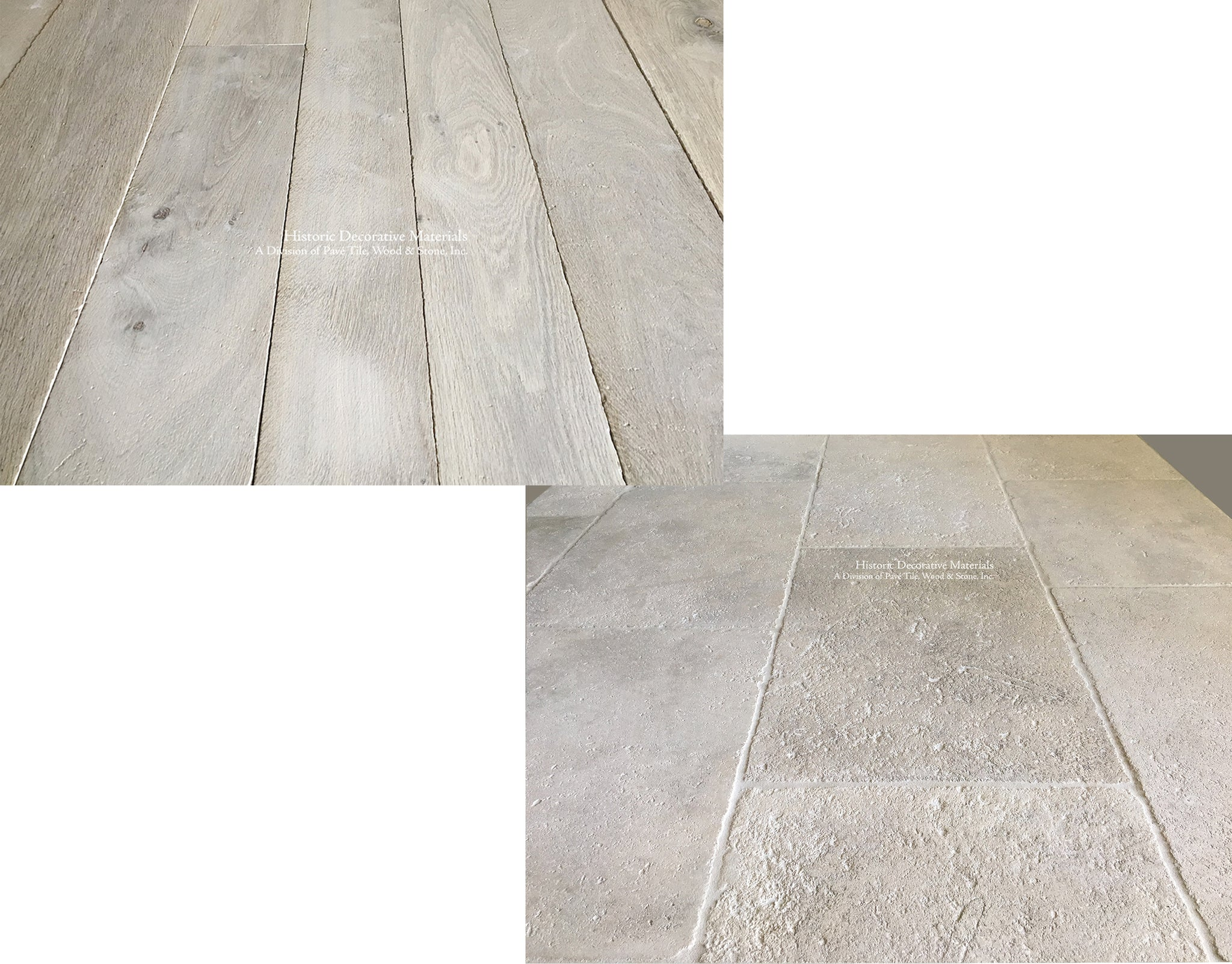 French Limestone Flooring and French Oak Flooring