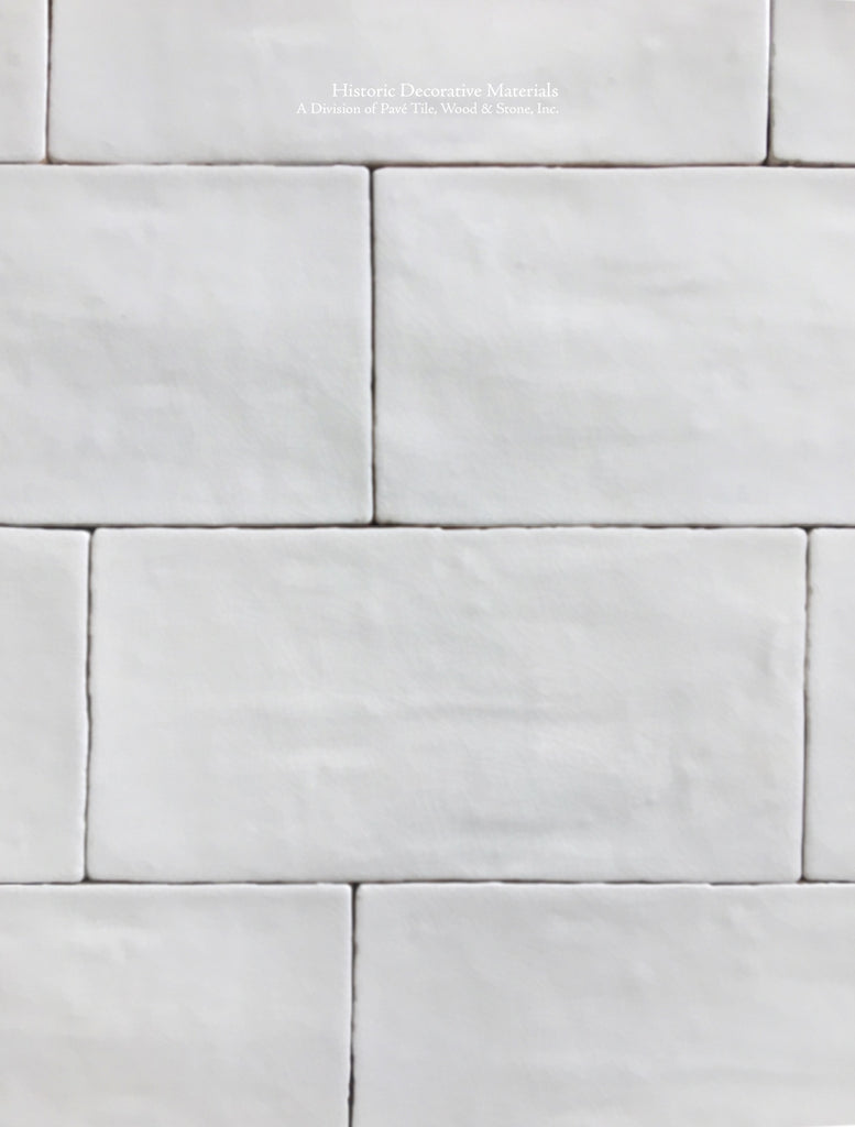 Hand Made Crazed Cream Wall Tile for Kitchens and Bathrooms
