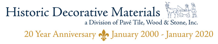 Historic Decorative Materials, a division of Pavé Tile, Wood & Stone, Inc.