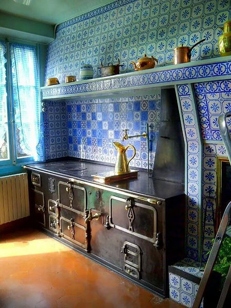 Monet's kitchen Giverny, France