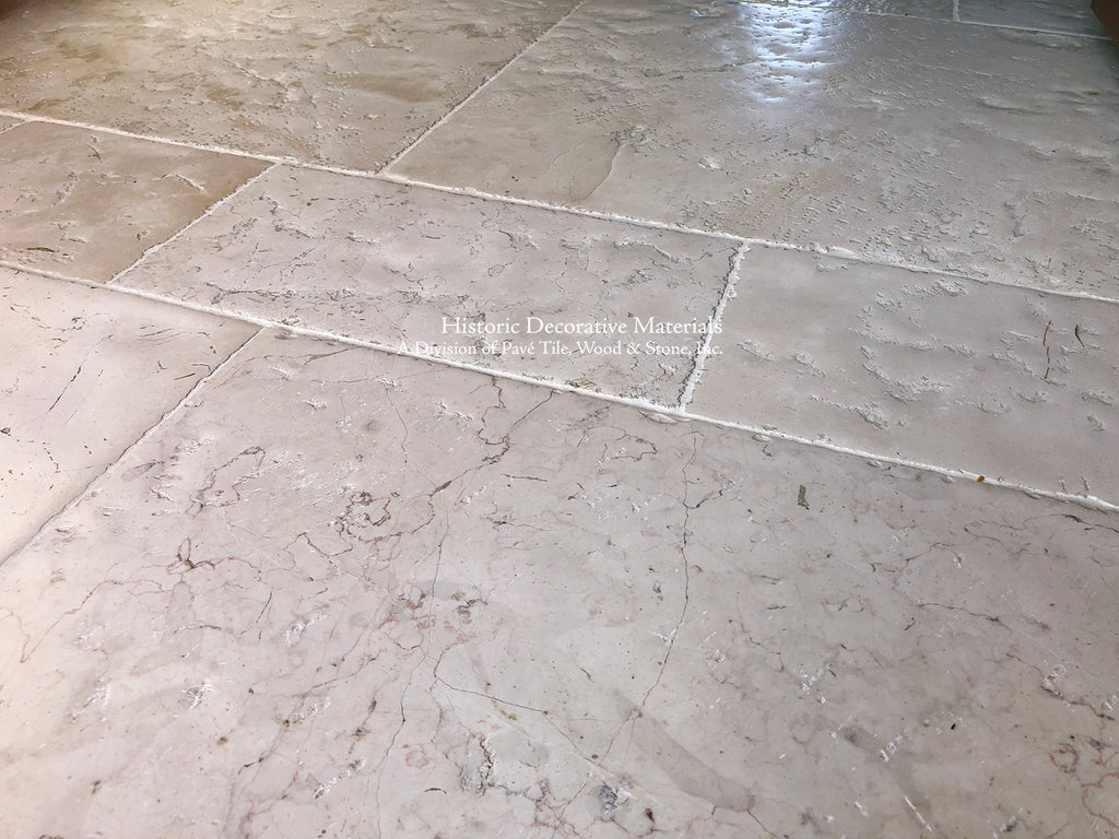 Antique Italian Limestone Flooring