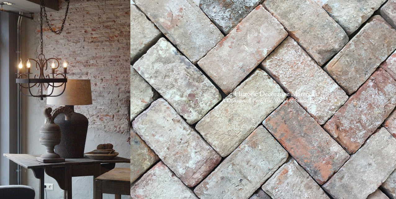 Reclaimed Belgian Red Bricks