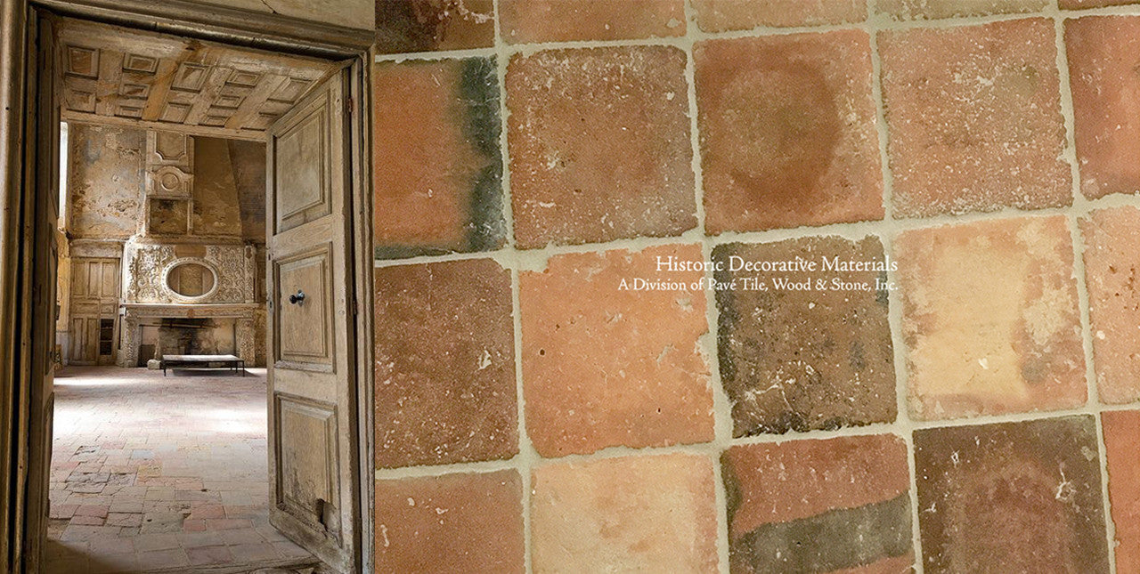 French Reclaimed Terra Cotta Tiles