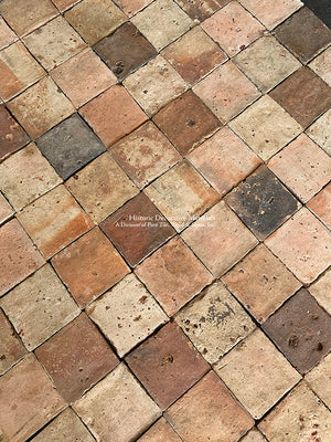 French Reclaimed Square Terra Cotta Tile