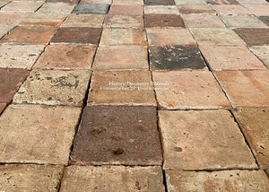 French Reclaimed Terra Cotta Tile