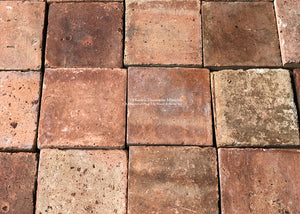 French Reclaimed Square Terra Cotta Tile - Item #PA137