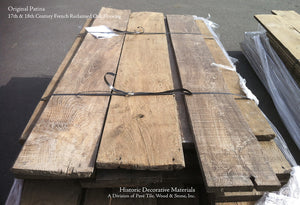 Original Patina - 17th & 18th Century Reclaimed French Oak Flooring