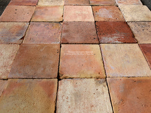 Reclaimed Spanish Terra Cotta Tiles