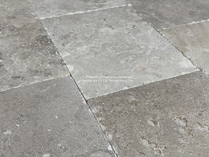 D'Artagnan Antique Réedition French Gray/Brown Limestone Flooring