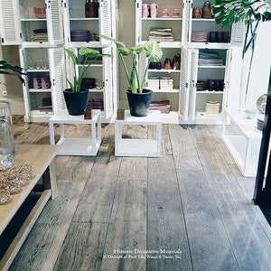 The Great House Collection: Kings of France 18th Century French Oak Flooring in Wide Plank Solid and Engineered: WEATHERED GREY