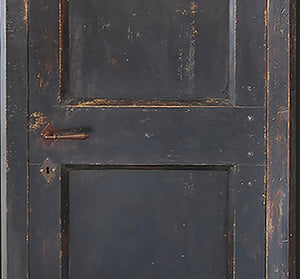 Master Crafted Antiqued Solid Wood Doors: Noir Ardoise