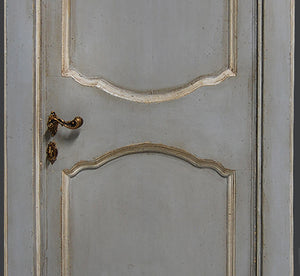 Master Crafted Antiqued Solid Wood Doors: Gris Bleu