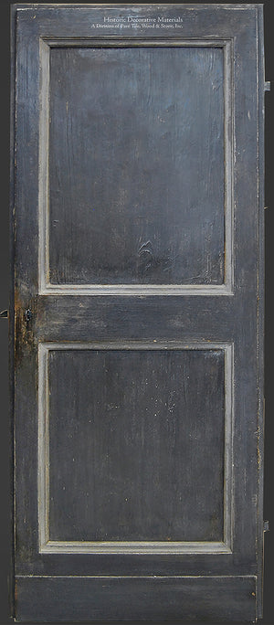 Artigianato Italiano Painted Wood Doors - Carbone