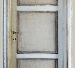 Master Crafted Antiqued Solid Wood Doors: Pierre et Gris