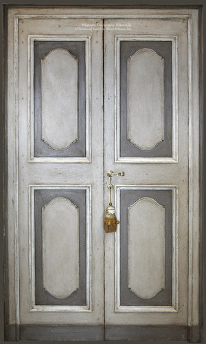 Master Crafted Antiqued Solid Wood Doors: Gris Foncé et Clair