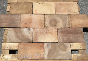 French Reclaimed Parefeuille Terra Cotta Tile - Item #PA138