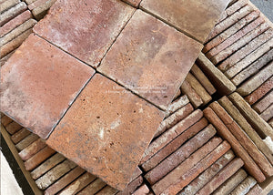 Historic Reds Spanish Reclaimed Terra Cotta Tile