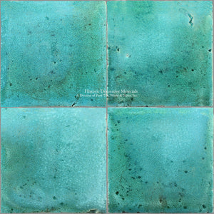 A Jeweled Majolica Wall Tile Collection - Mare Adriatico