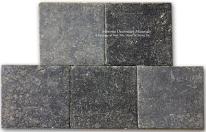 Aged 17th Century Antwerp Belgian Bluestone Pavers