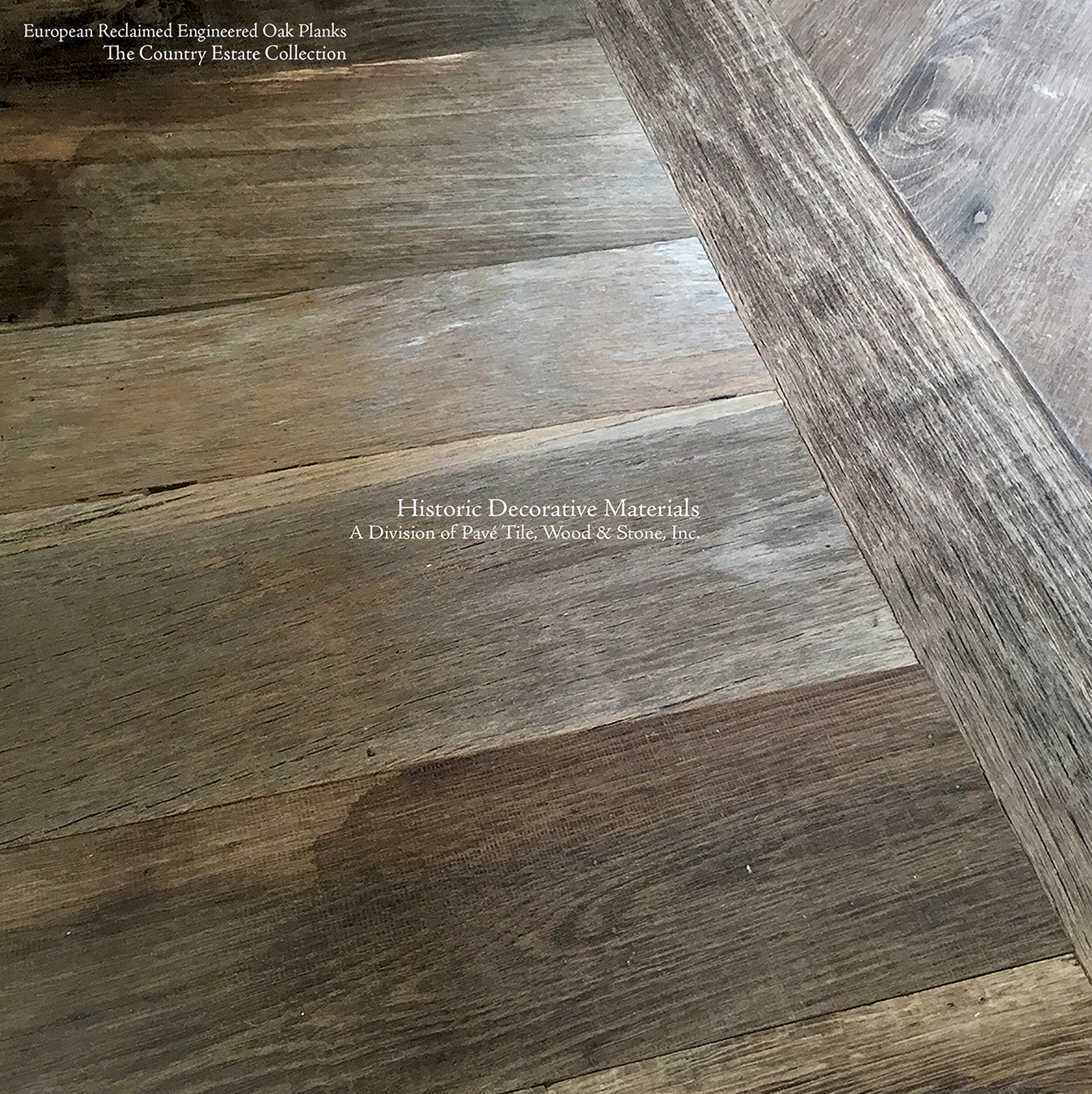 Reclaimed Engineered European Oak Floors In Mixed Width And Parquet