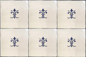 Cuisine de Monet Blue and White French Tile - J'aime la France