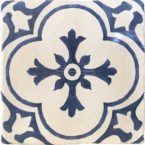 Cuisine de Monet Blue and White French Tile - Garden