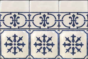 French Provincial 19th Century Cuisine de Monet Tile Collection
