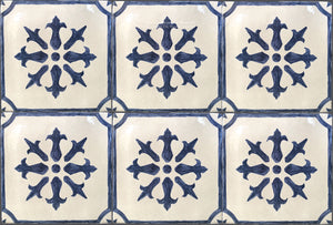 French Provincial 19th Century Cuisine de Monet Tile - The Gate