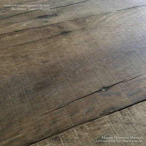 Hand Finished Reclaimed Engineered European Oak Floors in Mix Width Planks
