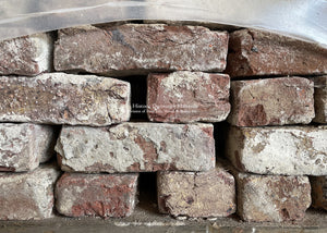 Klampsteen Reclaimed Antique Belgian Red Bricks