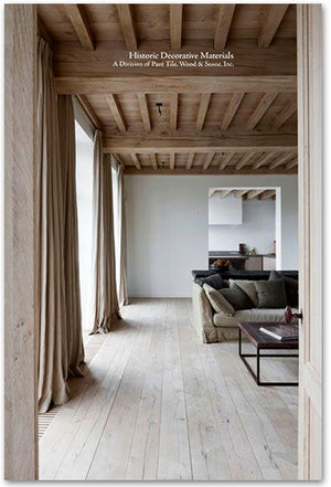 Kings of France 18th Century French Oak Floors in Danish Whitewash