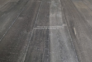 Kings of France 18th Century French Oak Floors in Charcoal