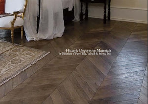 The Great House Collection: Kings of France 18th Century French Oak Flooring in Chevron and Herringbone