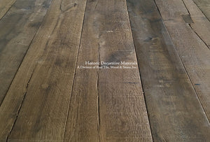 Kings of France 18th Century French Oak Floors: Cast Iron Grey Mahogany
