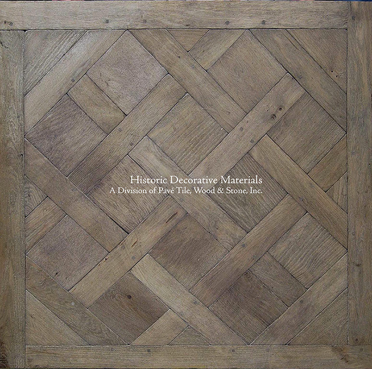Kings of France Aged French Oak Parquet de Versailles Flooring