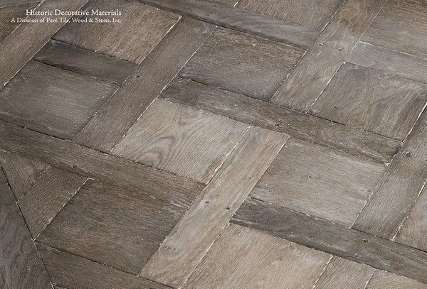 French Oak Floors Aged To Resemble Reclaimed French Oak