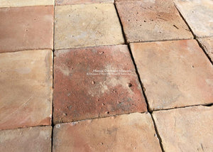 Spanish reclaimed terra cotta tiles