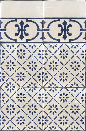 French Provincial 19th Century Cuisine de Monet Tile