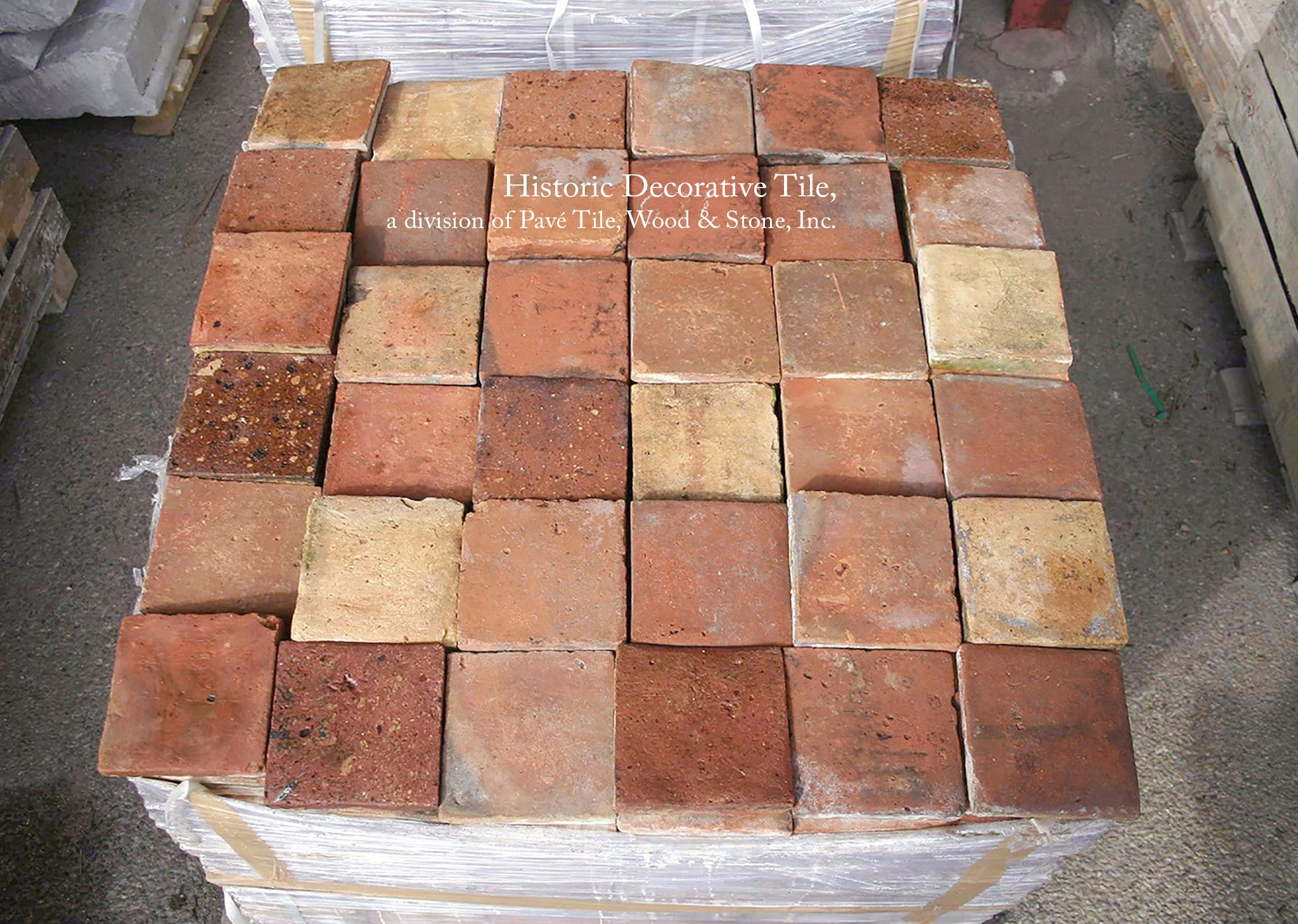 French reclaimed terra cotta 65 x 65 square tile historic french reclaimed terra cotta square tile dailygadgetfo Choice Image