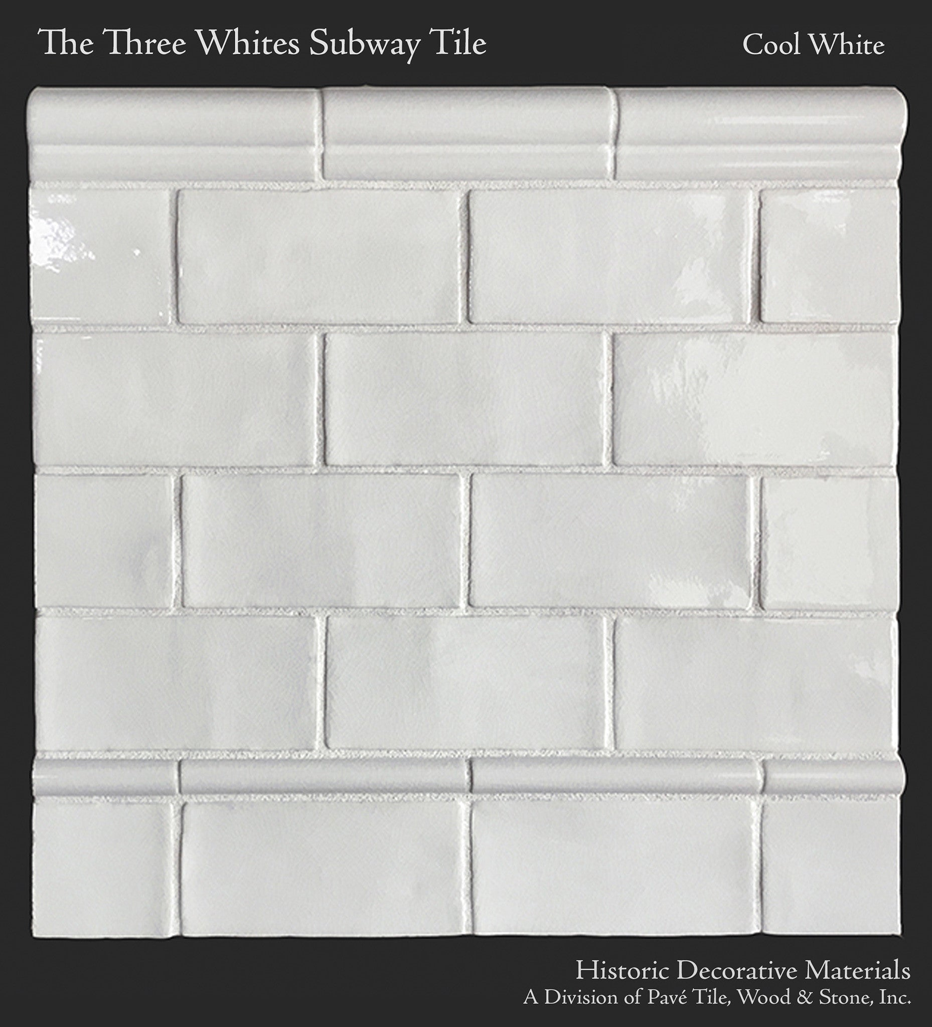 Ceramic Glazed 3 X 6 Subway Tiles For Kitchen Back Splash And Bathrooms Historic Decorative Materials A Division Of Pave Tile Wood Stone Inc