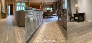 Kings of France French Oak Floors in Weathered Grey - Installation in Louisiana